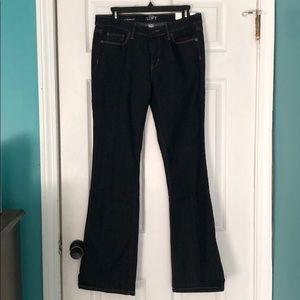LOFT bootcut never worn! Size 8